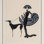 Image for the Tweet beginning: Thoughout his career, Erté was