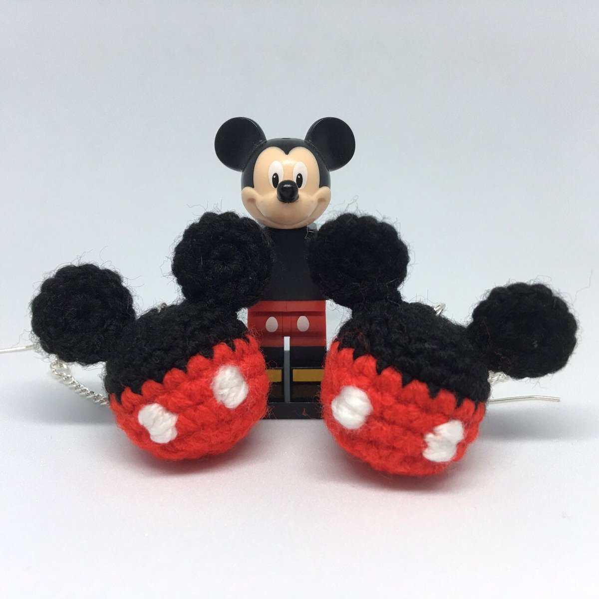 Mickey Mouse Inspired Pom Pom Earrings #handmade #HandmadeInUK #HandmadeHour #womaninbiz #wnukrt #womaninbizhour #CraftBizParty #etsy #Disney #Mickey #SmallBizSatUK #jewellery #smallbiz #BizHour #etsyshop #craft #gift #minnie #mickeymouse #minniemouse etsy.me/2vgNBRP