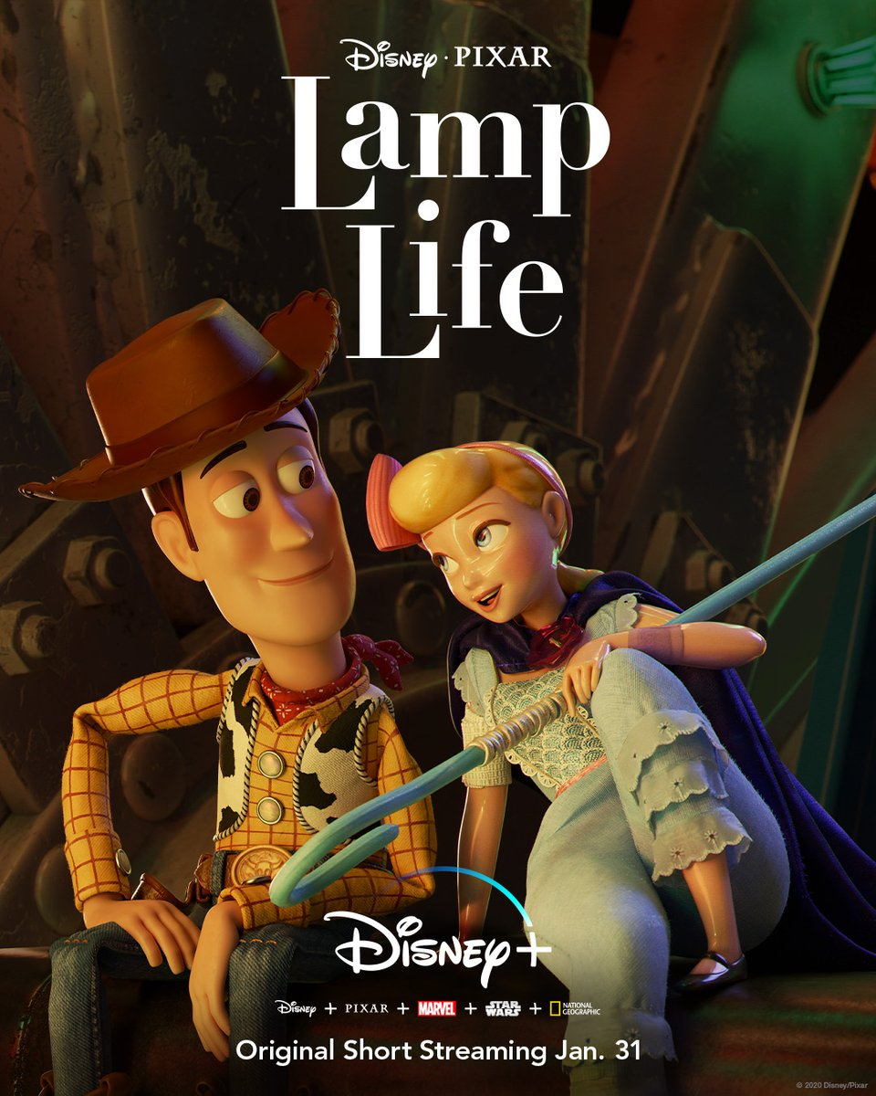 Bo Peep has her own toy story to tell. Start streaming Lamp Life, an Original Short, Jan. 31 only on #DisneyPlus.