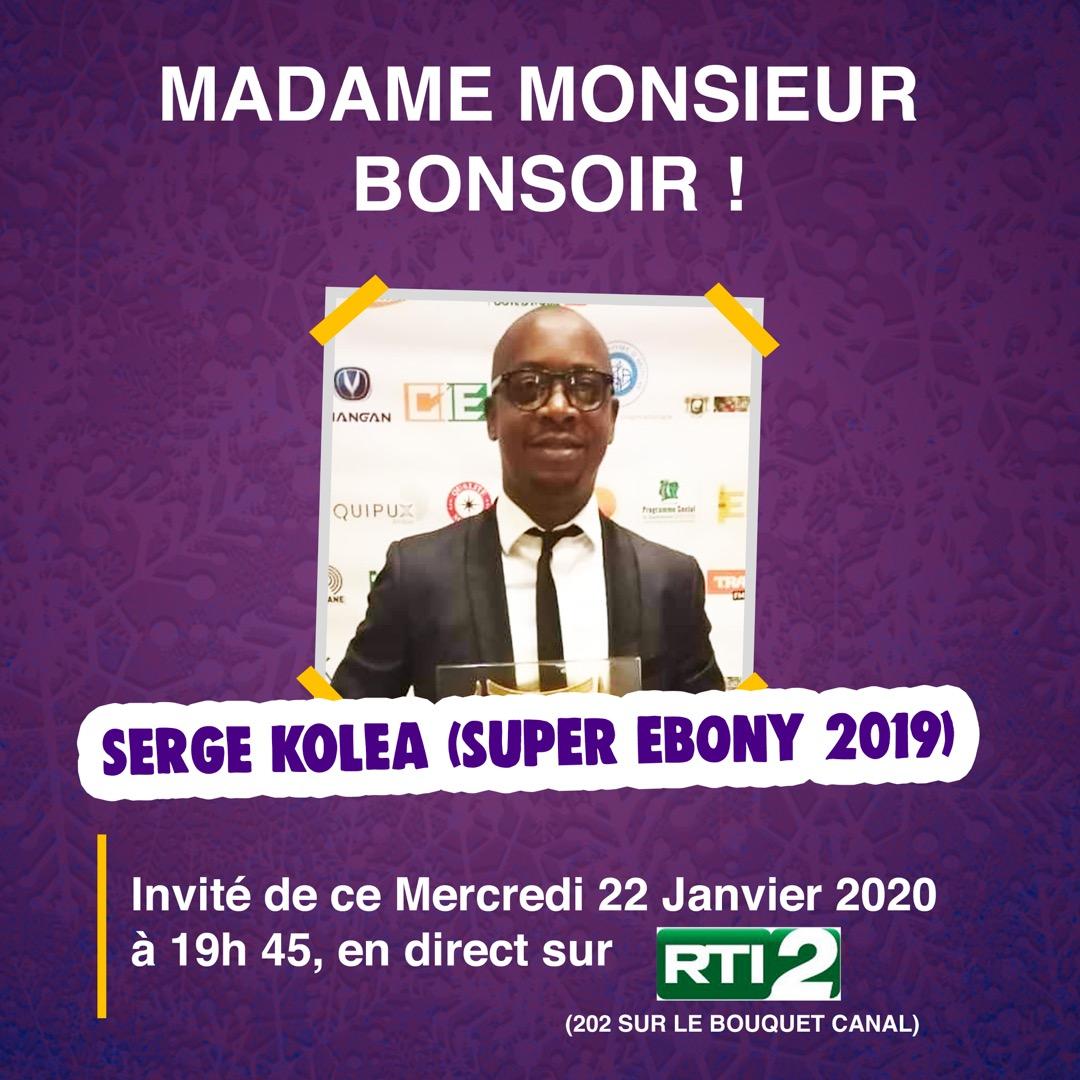 Le Super Ebony 2019 est l'invité de #MMB ce soir. #RTIofficiel