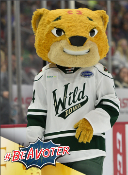 Proud to team up with @IAWild for the Wild About Voting Night this Friday. Join us for this bipartisan voter registration effort, get info about #IACaucus and collect your free Crash #BeAVoter trading card. We hope to see you there! sos.iowa.gov/news/2020_01_2…