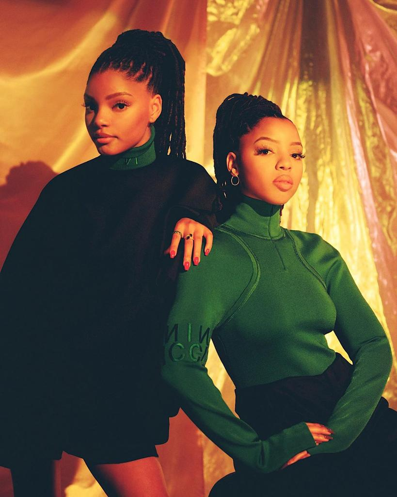 angels on earth. 🙏🏽 check out @chloexhalle beautiful feature by @POPSUGAR where they talk new music, inspiration, their careers and sisterhood. bit.ly/2GcJ7NZ.