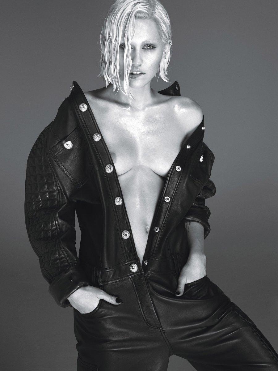 Miley Cyrus – W Magazine (March 2014)  – Celeb Nudity
