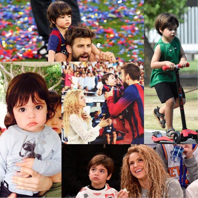 Hoy Milan Piqué Mebarak cumple 7 años  Feliz cumpleaños Milan   Happy Birthday Milan