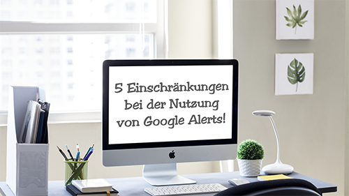 5 Google-Alerts-Einschränkungen! Lernen Sie 5 Einschränkungen kennen, die Sie bei der Nutzung von Google Alerts beachten müssen, um noch erfolgreicher zu werden! Klicken Sie jetzt hier. https://buff.ly/2QDnEUw #google #alerts #roa