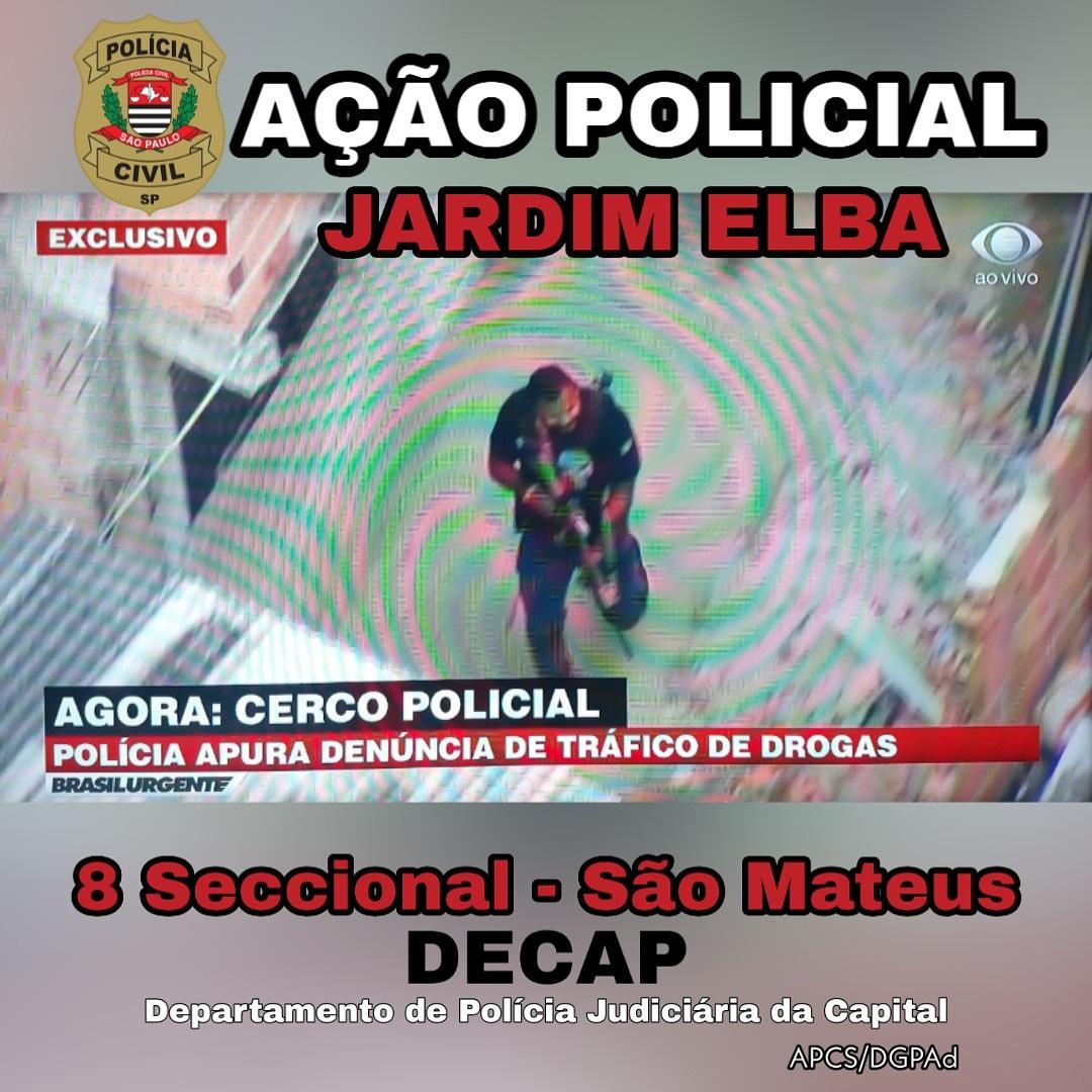 Polícia Civil de São Paulo realiza ação policial para capturar procurado por tráfico de drogas e mais de 100 assassinatos.  #PCSPcomVc  #EUcurtoPCSP  #Seccional8 #saomateus  #DECAP  #PoliciaCivilSPpic.twitter.com/ADVY5feESi