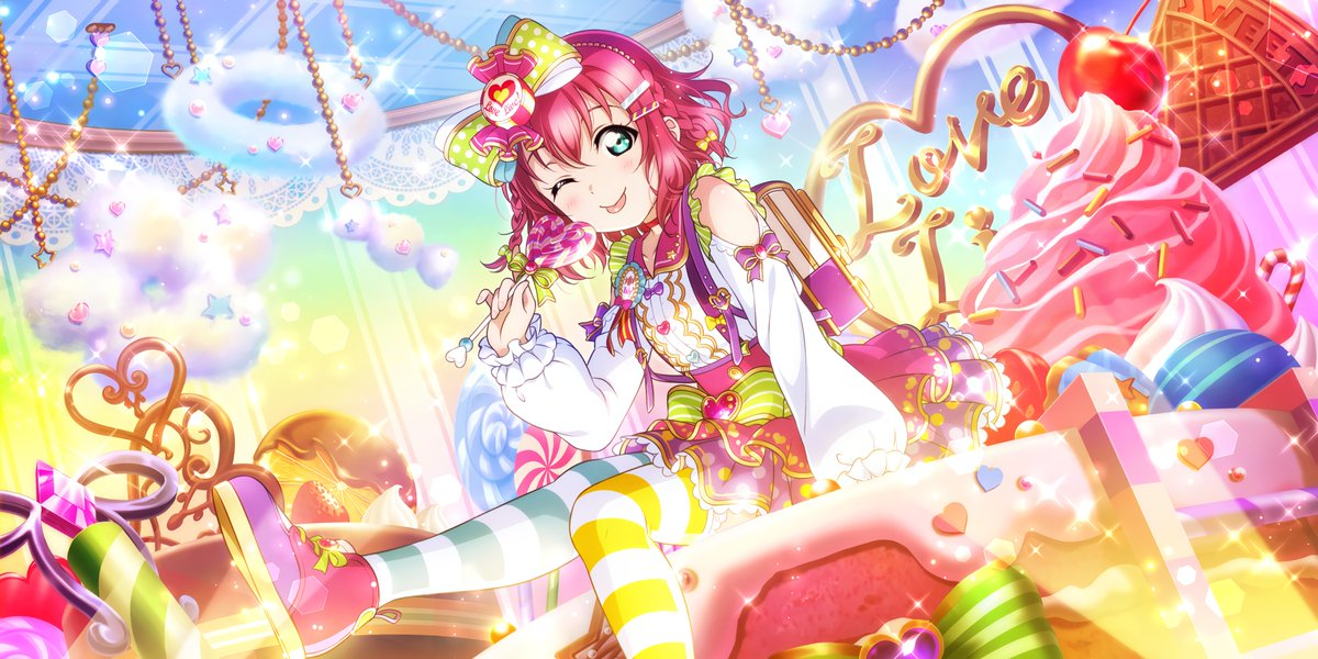 Salutations, my wonderful Makis, Yumus, & Woobies!  I never got around to talking about these new All-Stars cards. I simply love them. They're all so colorful. Outside of Yumu, I personally think Ruby and Eli take the cake with their idolized looks. Happy Wednesday, folks! <br>http://pic.twitter.com/uO5HXvkzD4