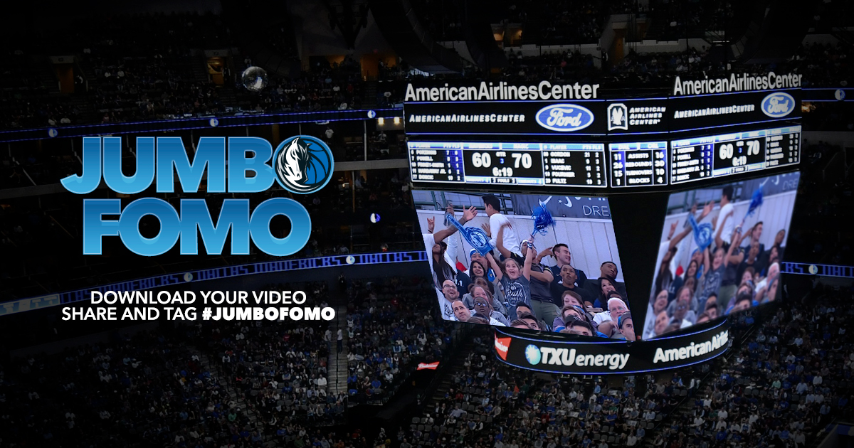 Made it on the Jumbotron last night? 👀 Find your moment on the big screen here ➡️ http://Mavs.com/JumboFomo