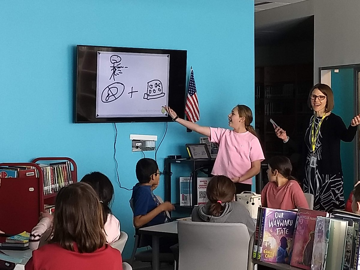 So much fun in TAB today! The students checked out all the new TAB books (thanks to <a target='_blank' href='http://twitter.com/ArlingtonVALib'>@ArlingtonVALib</a>) and then we played book Pictionary. Everyone loved it! <a target='_blank' href='http://twitter.com/DHMiddleAPS'>@DHMiddleAPS</a> <a target='_blank' href='http://twitter.com/APSLibrarians'>@APSLibrarians</a> <a target='_blank' href='http://twitter.com/EllenSmithAPS'>@EllenSmithAPS</a> <a target='_blank' href='http://search.twitter.com/search?q=DHMSReads'><a target='_blank' href='https://twitter.com/hashtag/DHMSReads?src=hash'>#DHMSReads</a></a> <a target='_blank' href='https://t.co/zkCNd3f2BV'>https://t.co/zkCNd3f2BV</a>
