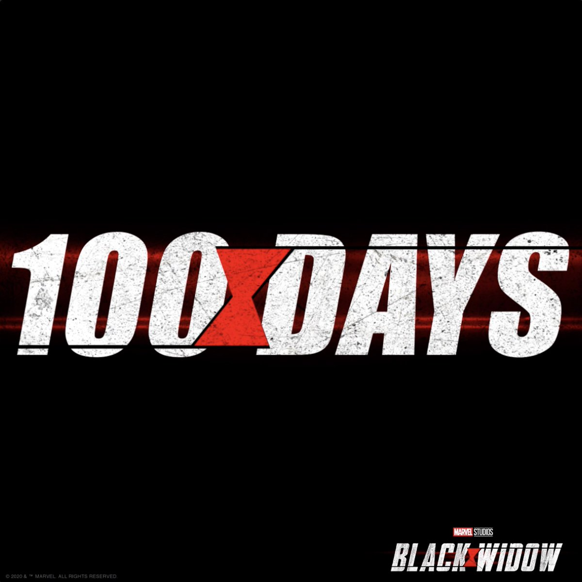 See Marvel Studios' #BlackWidow in theaters in 100 days.
