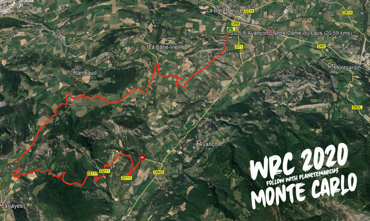 WRC: 88º Rallye Automobile de Monte-Carlo [20-26 de Enero] - Página 8 EO6ZPgIXsAI8M9g?format=jpg&name=large