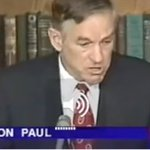 Image for the Tweet beginning: Classic Ron Paul: The Real