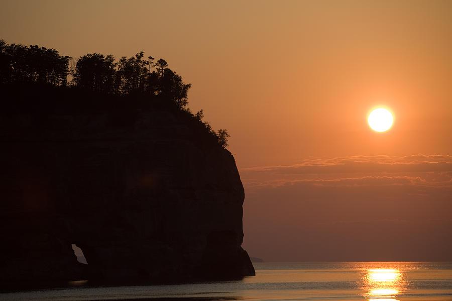 """#POTD for 01-22 """"Lake Superior Sunset""""  #photography #photo #sunset"""