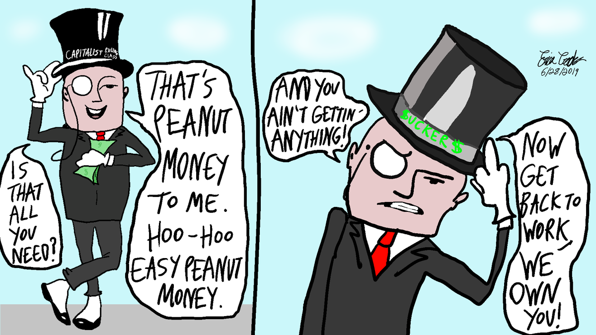 Mr. Peanut probably got killed off because people found out that this was basically a satirical caricature of capitalists. lol #webcomic #webcomics #ericacrookscomics #classconsciousness #satire #politicalsatire #anticapitalist #anticapitalism #classwar #eattherich #leftistmemes pic.twitter.com/LKvgY0tHlf