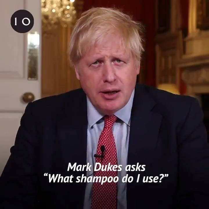 """""""What shampoo do you use?"""" - PM @BorisJohnson answers your questions for #PeoplesPMQs"""