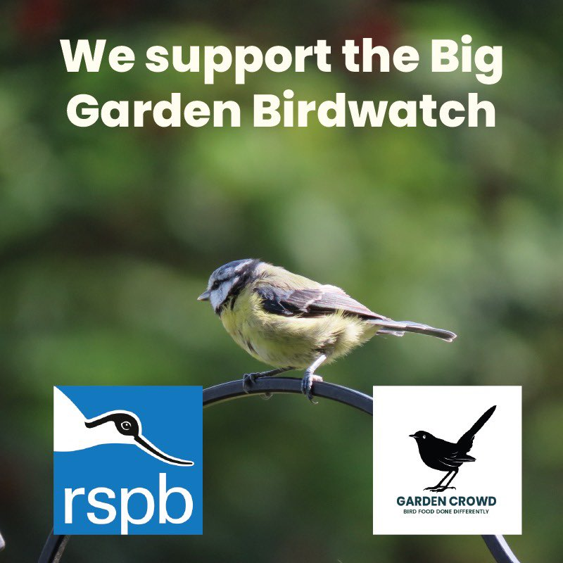Have you got your pack for the Birdwatch this weekend?  Don't worry if you haven't you can join in online #rspb #BigGardenBirdWatch<br>http://pic.twitter.com/tLO3ONyMTY