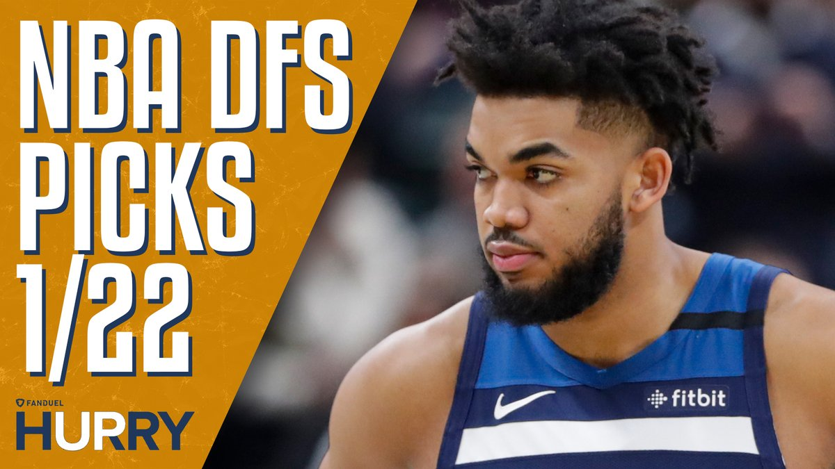 Chicago is dead last in the league against centers, which is why @GreggSussman and @DFS_Tom think starting KAT is an absolute must 📈  Full video ➡️ https://youtu.be/i9XjP4YqH4A