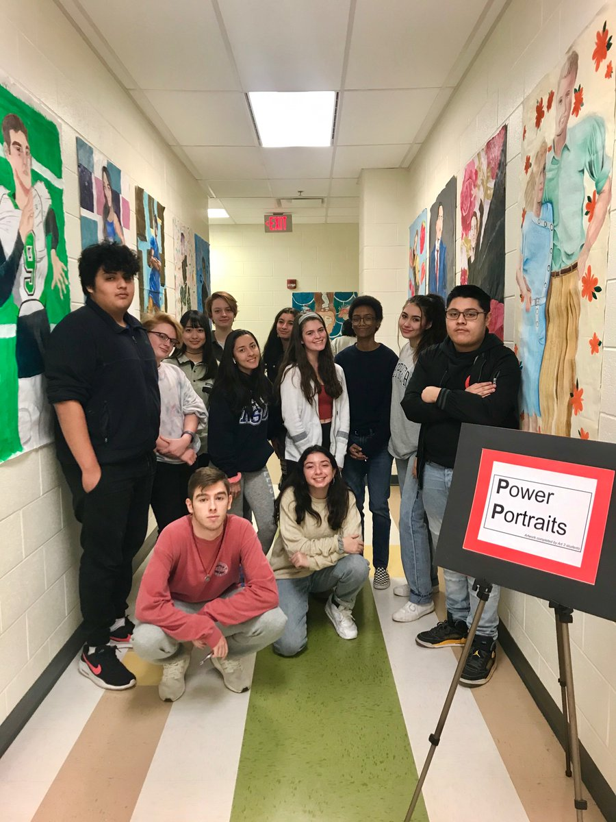 RT <a target='_blank' href='http://twitter.com/wakefield_arts'>@wakefield_arts</a>: The Art 3 students thank you for stopping by the pop-up portrait exhibit! <a target='_blank' href='https://t.co/bEEsDheVwG'>https://t.co/bEEsDheVwG</a>