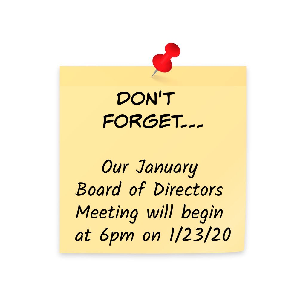 Just a reminder that this month's Board of Directors meeting will be held on 1/23/20 at 6pm. (That's tomorrow just in case you were wondering) Hope to see you there! #wearewater #everydropcounts #waterwisemonterey @ksbw @KION546 @mcweekly @MontereyHerald<br>http://pic.twitter.com/JRJSS2xxrC