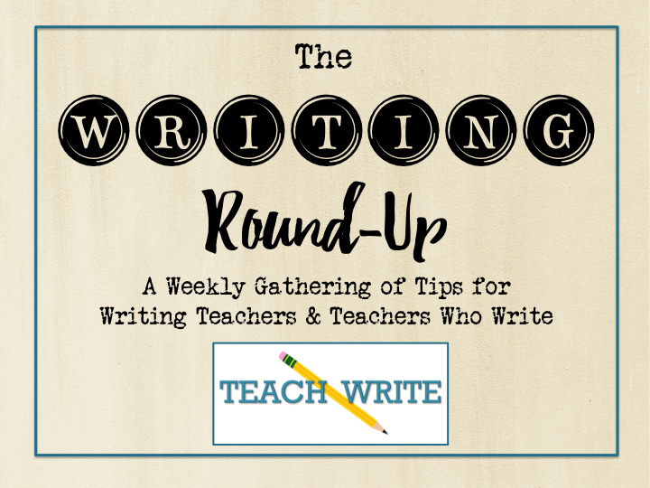 This week {1.25.20} in the #TeachWrite Writing Round-Up:  * Understanding the semicolon * Writing IS prof development * Creating independent writers * Classroom Writing Cafes * Boost your creativity  and MORE!