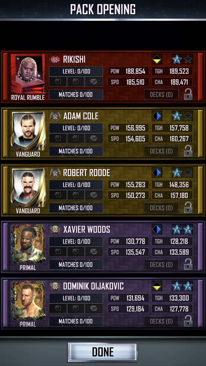 Another royal rumble card 😳#WWESuperCard