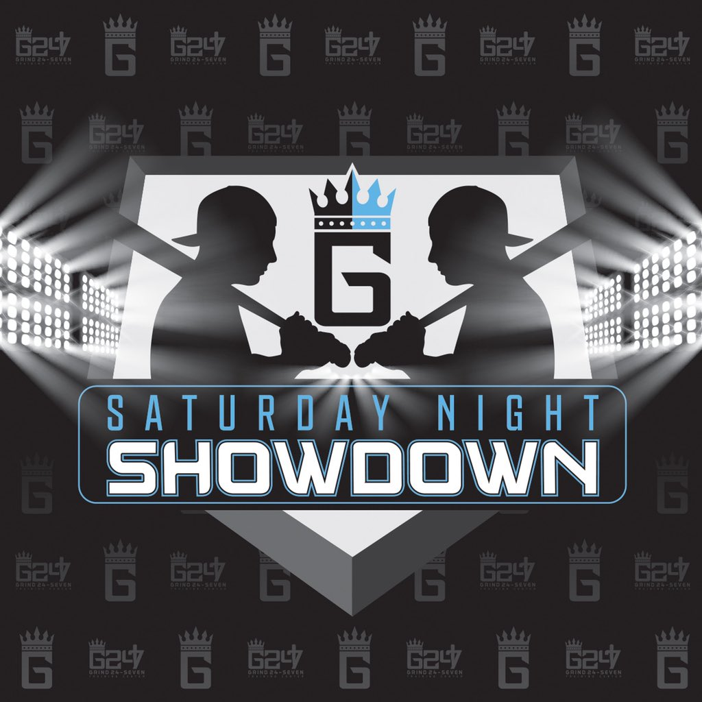 Last day to sign up for the areas only place to compete @Grind24_seven #saturdaynightshowdown pitching, hitting & catching groups To be released on Friday.<br>http://pic.twitter.com/Mm8B0TIHxu