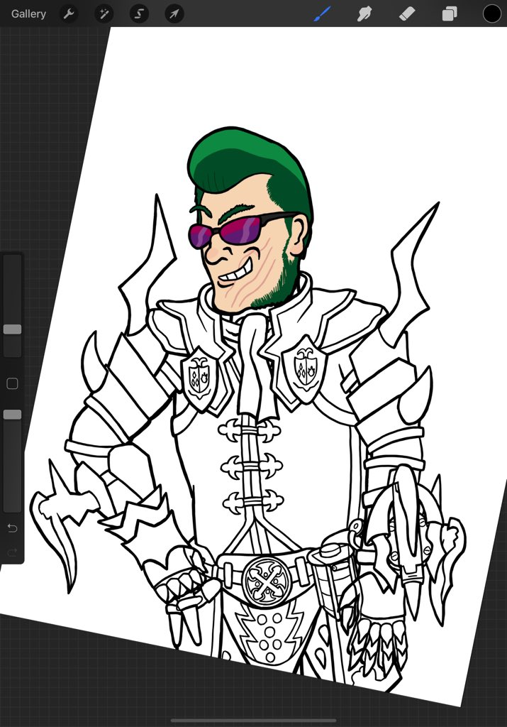 This was a sketch that got a little out of control... hopefully will finish coloring tonight. . #monsterhunterworldiceborne #monsterhunter #monsterhunterworld #wip #customcharacter #capcom #videogamefanart pic.twitter.com/9GlAvKcIOL