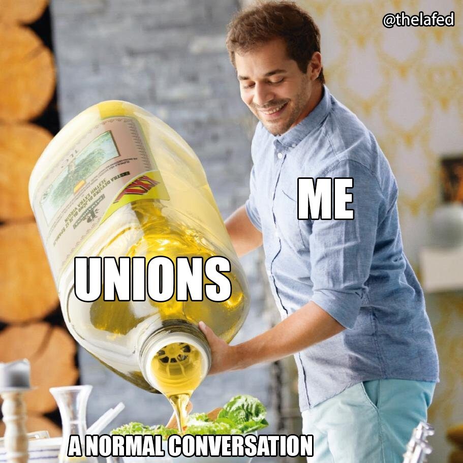 """""""Have you tried unionizing?"""" #UnionStrong #1u<br>http://pic.twitter.com/gJJkSN1oWw"""