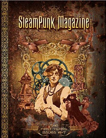 Cover art from erstwhile Steampunk Magazine. I wonder if I could get that framed... #steampunk #ArtistOnTwitter @magpiekilljoy