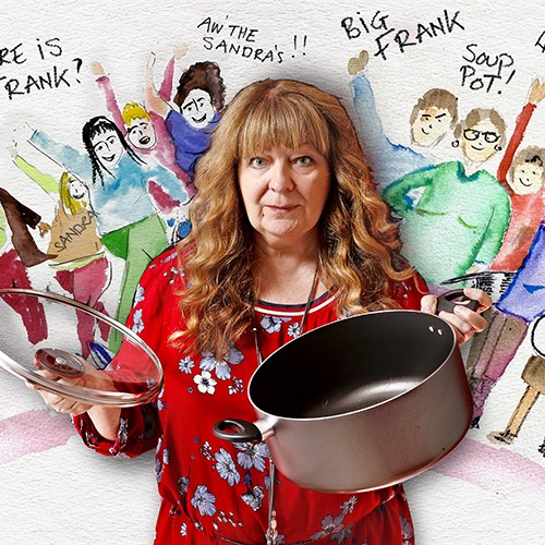 """""""A stand-up so personal in approach I wouldn't be surprised if she breast-fed the front row"""" -Time Out """"A Fu%king great comedian"""" – Billy Connolly Don't miss @JaneyGodleys show at Komedia Bath on Feb 25th! 🥣 Tickets here! komedia.co.uk/bath/comedy/ja…"""
