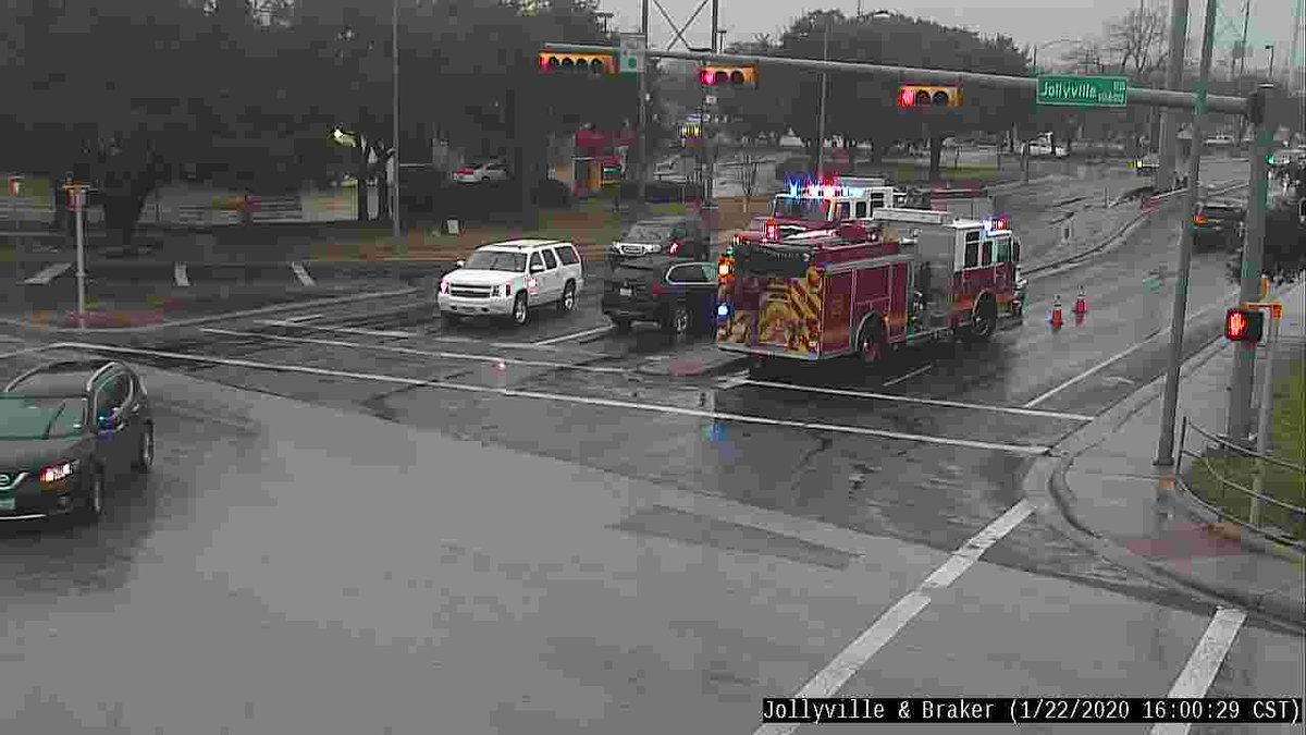 Crash at Jollyville & Braker has cleared.  All lanes are now open.  Drive safely!  #atxtraffic