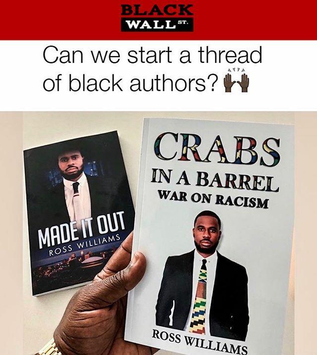 FOLLOW @rwcommercellc & His Writing Services Company @williamscommerce1 & Tag A Black Author  . . . #BlackExcellence #BlackEntertainment #BlackHistory #BlackEmpowerment #BlackKnowledge #BlackCulture #BlackWomen #BlackMen #BlackWallSt #humanityheal… https://ift.tt/38tUnSnpic.twitter.com/a3cXgiyCCJ
