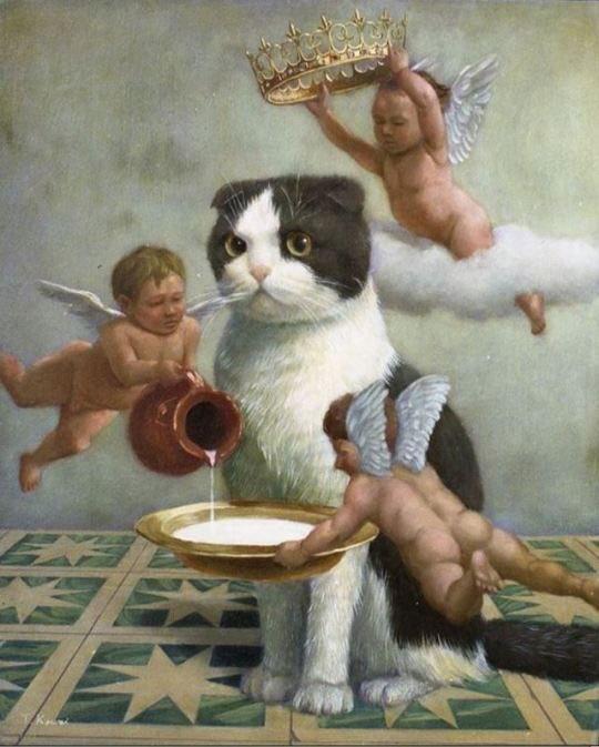 前から気になってたこの絵を描いた人が川井徳寛〜Kawai Tokuhiroと言う画家さんだと言う事が分かった。この方の絵にはよく天使が描かれている。