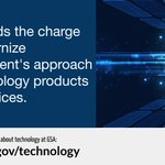 #WhatWeDoWednesday - GSA leads the charge to modernize government's approach to technology products and services. Learn more about @GSA_TTS: https://t.co/ZRnYQsbyW8