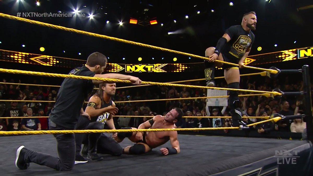 The end of an ERA. #WWENXT #NXTNorthAmericanTitle