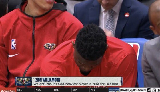 Zion Williamson Body-Shamed By ESPN In NBA Debut. Twitter Fumes.