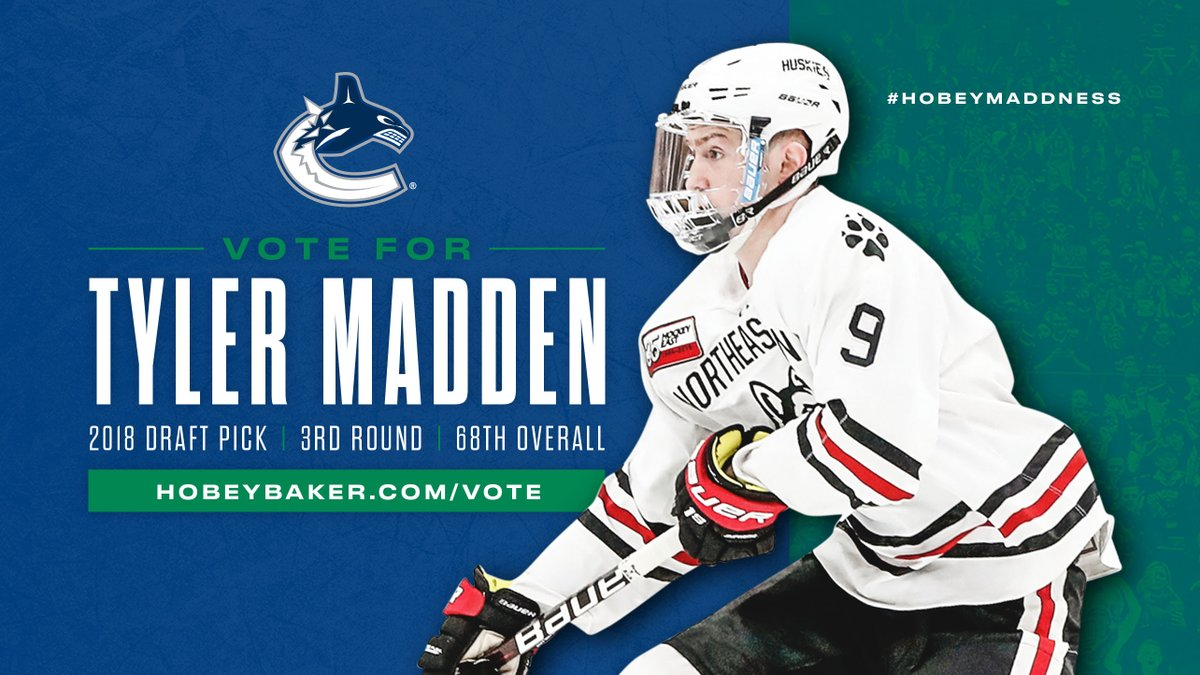 Let's get @TP_Madden10 into the NCAA's Hobey Baker Top 10! 🗳 hobeybaker.com/vote   #HobeyMaddness