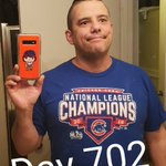 Now the JONESING for baseball begins. Going to be a long 20 days  Day 702 of @Cubs #ShirtOfTheDay   #ThatsCub #CubTalk #EverybodyIn #IamCubsessed #Cubs #AuthenticFan #OwnItNow #GoCubsGo @fanaticsauthentic #ChicagoCubs