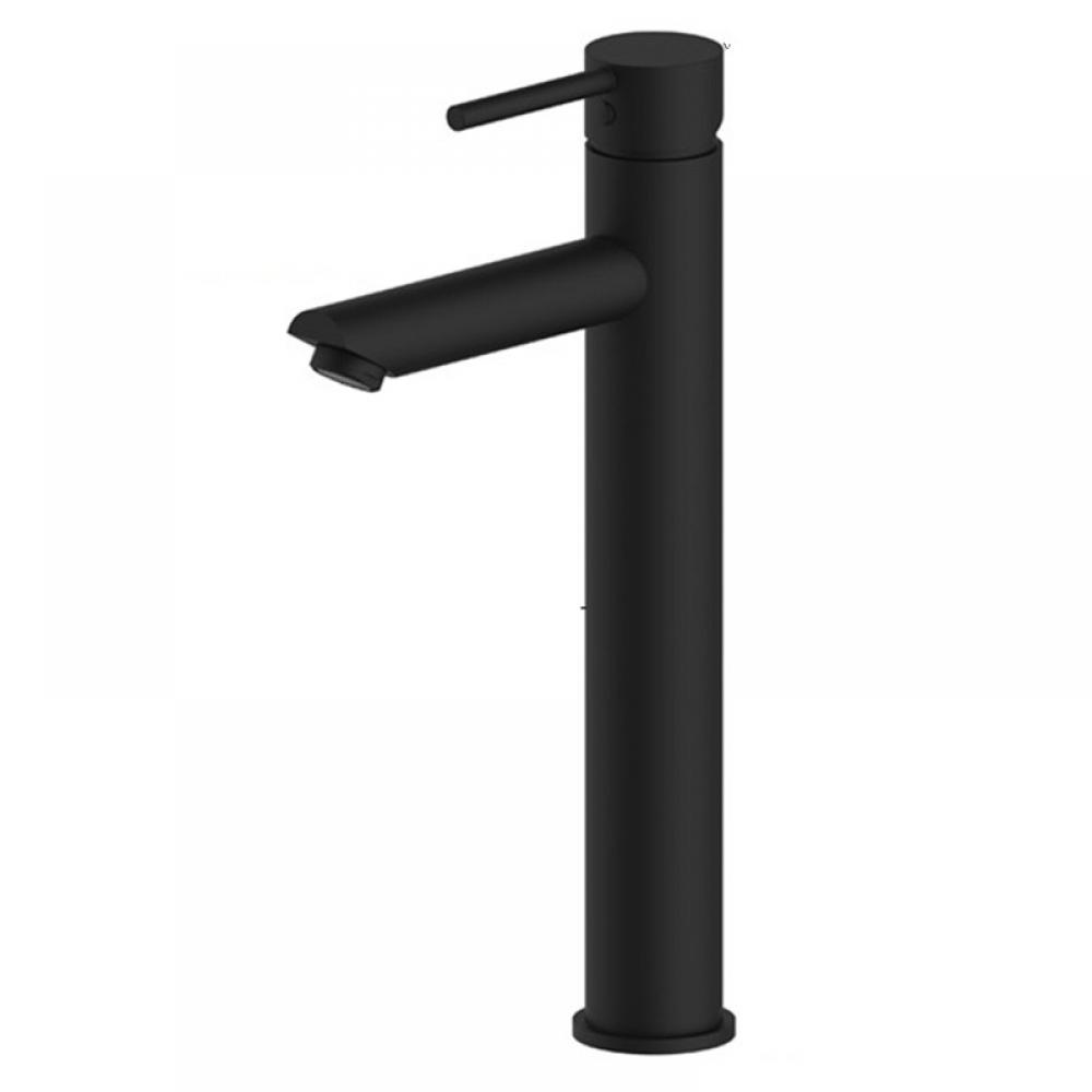 #wood #handmade Modern Matte Black Single Handle Bathroom Taps
