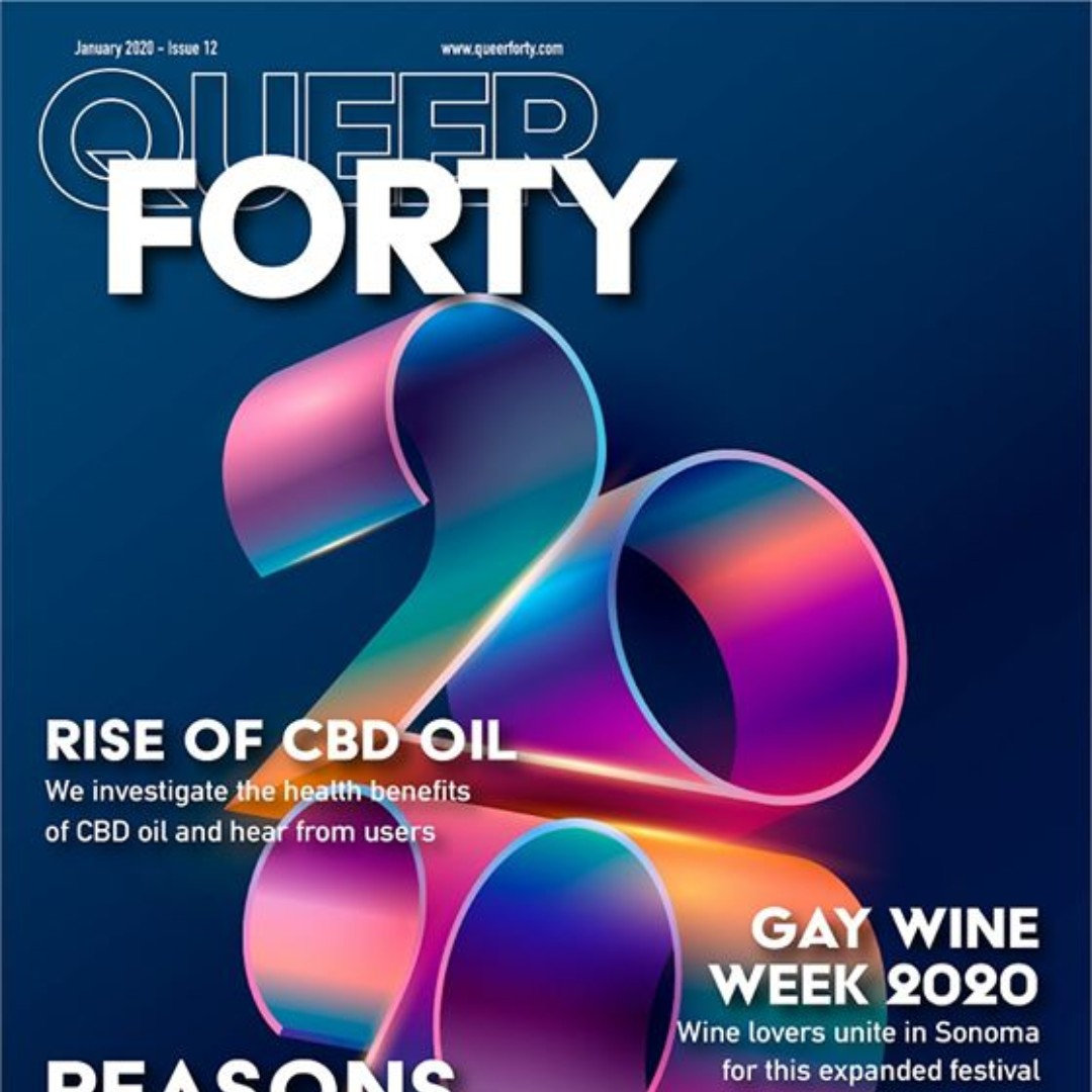 Wow! #GayWineWeek is on the cover of Queer Forty! Thanks so much for the love!  Read their article about our #summer event here: