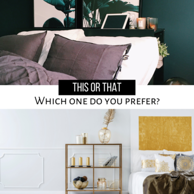 These two bedrooms couldn't be more different! Which bedroom would you love to wake up every day? If it's too hard to choose, create one as your guest bedroom to have the best of both worlds!  #Design #HomeDesign #RealEstate #TheLeibowTeam