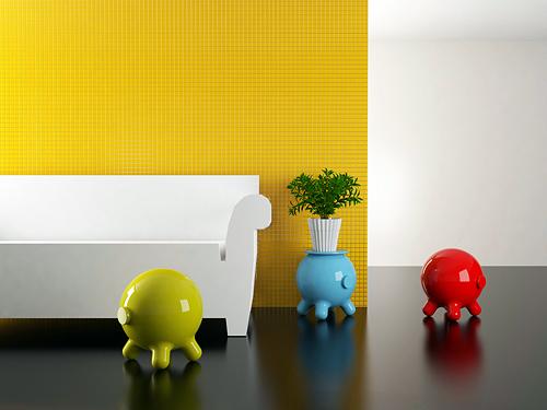 La mesa auxiliar Pogo fusiona humor y elegancia en un diseño que transmite personalidad y sofisticación.  Diseñador: @JoelEscalona  . . . #decor #decoration #homedecor  #furniture #design #interiors #interiordesign #smalltable #contemporarydesign
