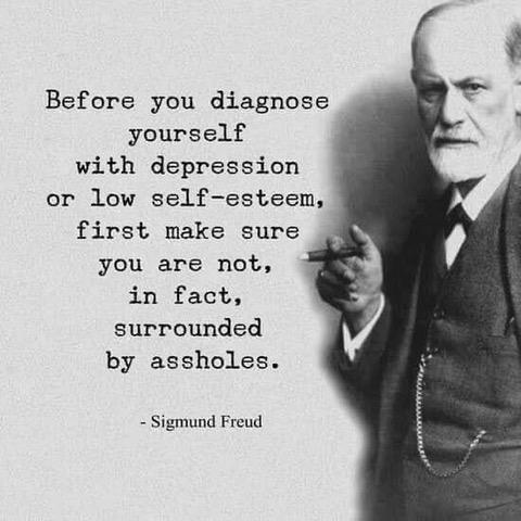 #Freud #depression #DepressionIsReal #depressionfeelslike #selfesteem @FreudMusLondon @freudtourvienna @OxSigmund @SigmundFreud_SE @sigmundfreudfan @sigmundfreud939 @SigmundFreud_BP @SigmundFreudAC @sigmundfreud56 @sigmundfreud515 @Rowan_atkinson7