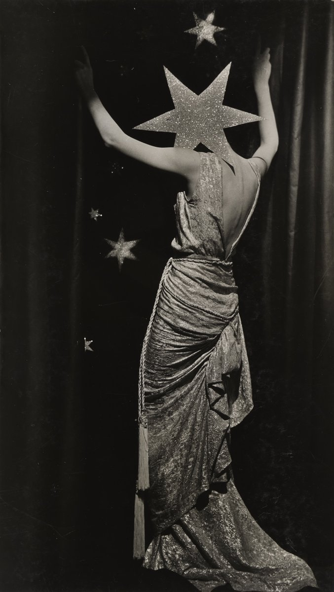 A little in love with this image 'Untitled (Fashion photograph)' by Dora Maar, c. 1935.