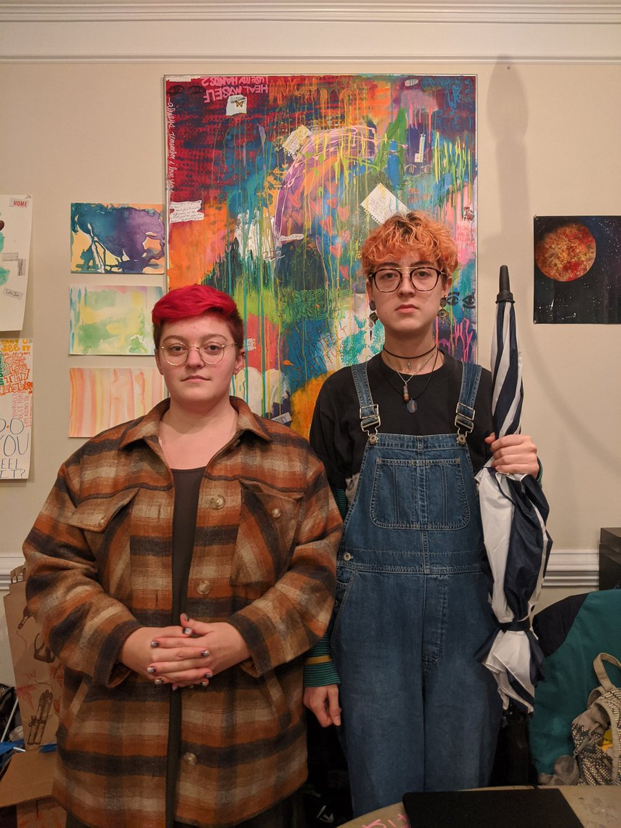 American Gothic but make it queer <br>http://pic.twitter.com/5dCRp3Eo0d
