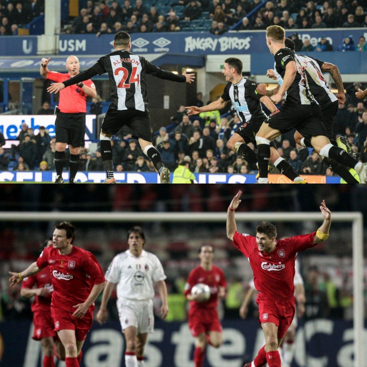 Ancelotti habló con sus jugadores luego de que Newcastle le igualara el partido en 2 minutos: 🗣️ Les dije que tengo más experiencia que ellos: perdí una final de Champions League tras ir ganando 3-0 (Milan-Liverpool 2005), entonces es algo que puede ocurrir a veces.