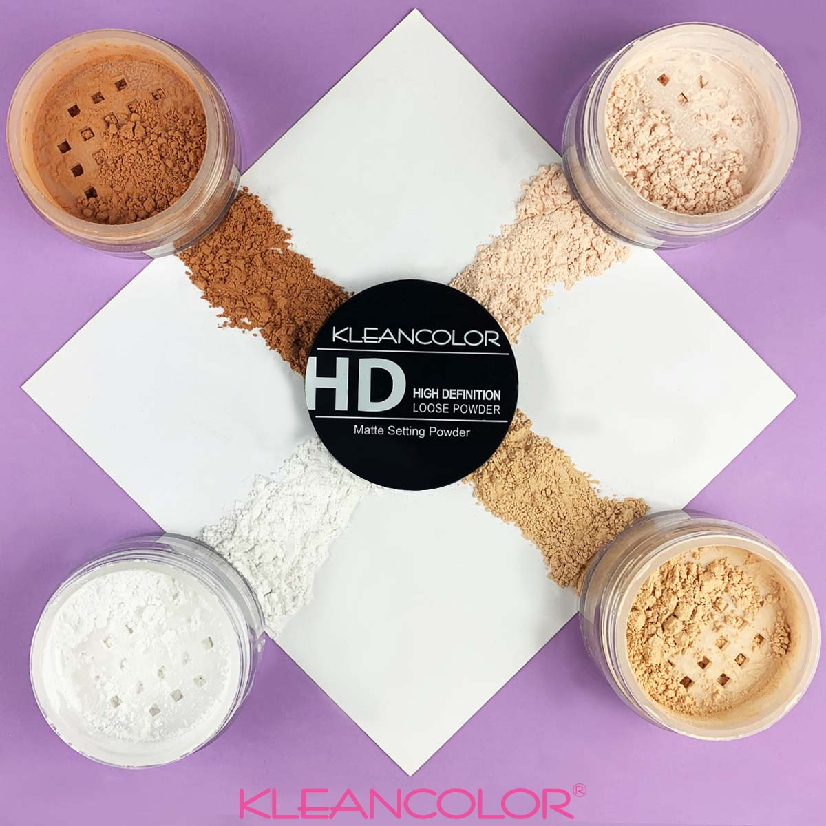 Our High Definition Matte Setting Loose Powders are an everyday essential for all your setting, baking, contouring and sculpting needs! Available in 4 shades for just $2.00 each! #KLEANCOLOR #SettingPowder #Powder #CrueltyFree #Makeup #Beauty #Cosmetics https://www.kleancolor.com/products/high-definition-mattifying-finishing-loose-powder?variant=53052343172 …pic.twitter.com/NzZ7LrBFBc