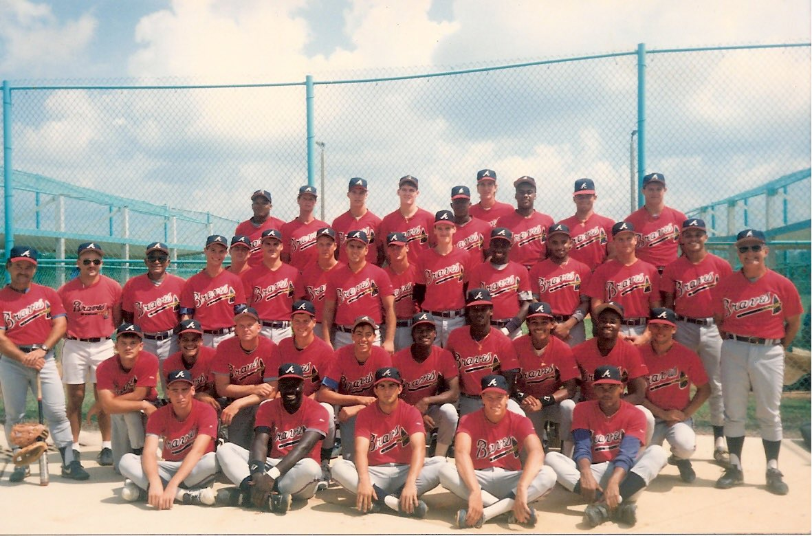 Hey @RealCJ10  throwback to Bradenton and 100 degree afternoon games.   Fun times.