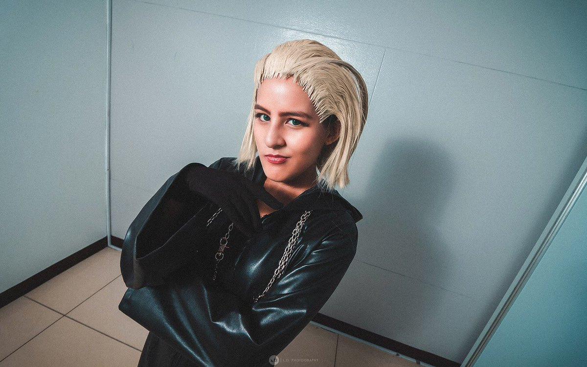 Happy #kingdomhearts3 Re:Mind release day! I am am hyped af and will probably be screaming the entire time  But for now, more of my #larxene cosplay   Photography by @luigiodavincii   #kingdomhearts #kingdomheartscosplay pic.twitter.com/3ZrFtWOgUN