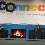 Image for the Tweet beginning: Marc Olin hosts fireside chat